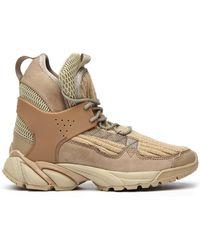 Undercover - Rib-knit Hi-top Sneakers - Lyst