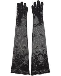 Ann Demeulemeester - Lace Gloves - Lyst