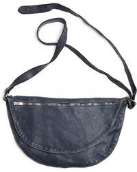 Guidi - Leather Crossbody Bag - Lyst