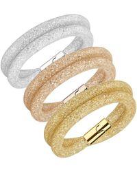 Swarovski - Stardust Deluxe Bracelet Set - Lyst