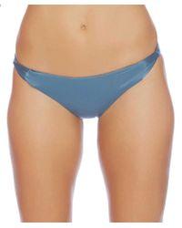 Luxe by Lisa Vogel - Liquid Cali Cut Bikini Bottom Color: Blue Size: Xs - Lyst