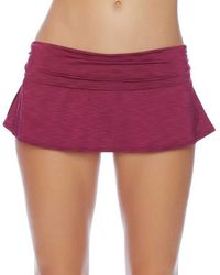 Athena - Tulum Texture Maliah Flared Skirted Bottom - Lyst