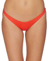 Basta - Straddie Reversible High Leg Bottom - Lyst