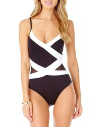 349ce7aa1b6 Women's Anne Cole Monokinis and one-piece swimsuits On Sale - Lyst