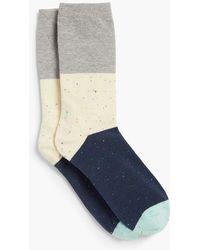 Talbots - Colorblock Trouser Sock - Lyst