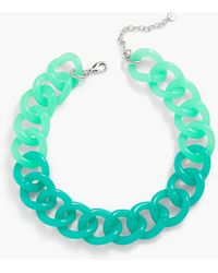 Talbots - Colorblocked Link Necklace - Lyst