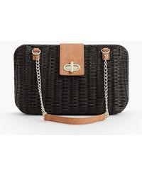 Talbots - Wicker Shoulder Bag - Lyst