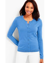 Talbots - Supersoft Charming Cardigan - Lyst