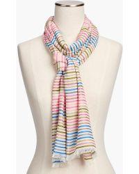 Talbots - Yarn-dyed Stripe Scarf - Lyst