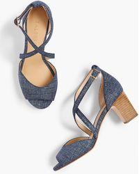 Talbots - Gisela Cross-strap Sandals - Lyst