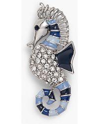 Talbots - Seahorse Brooch - Lyst