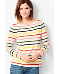 Talbots - Authentic Tee - Whitby Stripe - Lyst