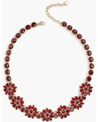 Talbots - Poinsettia Necklace - Lyst