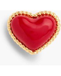 Talbots - Heart Brooch - Lyst