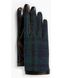 Talbots - Leather Touch Gloves - Lyst