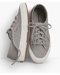 Talbots - Superga® Lace-up Trainers - Lyst