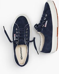 Talbots - Superga(r) Sneakers - Shearling-lined Suede - Lyst