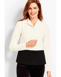 Talbots - Colorblock Double-face Jacket - Lyst