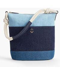 Talbots - Denim Bucket Bag - Lyst