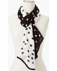Talbots - Moving Dots Scarf - Lyst