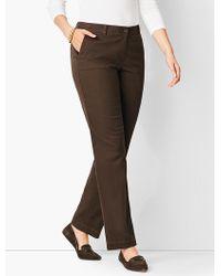 Talbots - Full-length Chino Pant - Curvy Fit - Lyst
