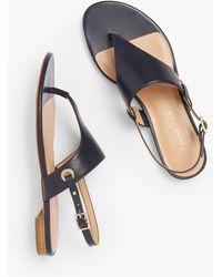 Talbots Keri Triangle Sandals