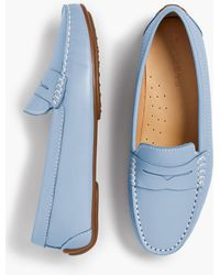 Talbots - Taylor Penny-keeper Driving Moccasins - Lyst
