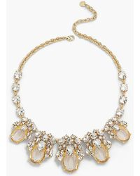 Talbots | Stone Necklace | Lyst