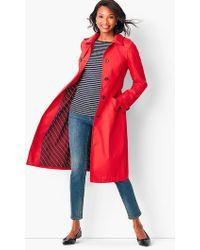 Talbots - Refined Cotton Trench Coat - Lyst