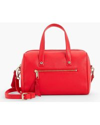 Talbots   Pebbled Leather Doctor Bag   Lyst