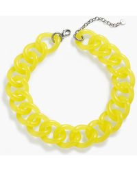 Talbots | Colorblocked Link Necklace | Lyst