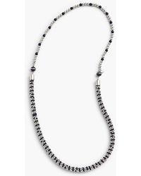 Talbots - Stripe Bead Layer Necklace - Lyst