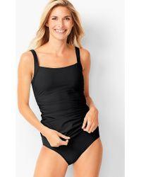 Talbots - Miraclesuit® Cabana Tankini Top - Lyst