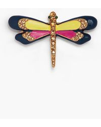 Talbots - Multi-color Dragonfly Brooch - Lyst