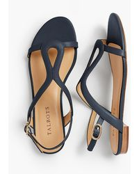 Talbots - Keri Keyhole Sandals - Soft Leather - Lyst