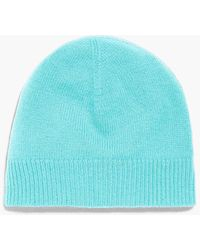 Talbots - Ribbed Trim Cashmere Hat - Lyst