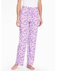 Talbots - Bright Print Pyjama Bottoms-tulip - Lyst
