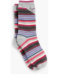 Talbots - Striped Skier Trouser Sock - Lyst