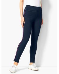 Talbots - French Terry Legging - Lyst