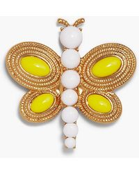 Talbots - Rope Dragonfly Brooch - Lyst