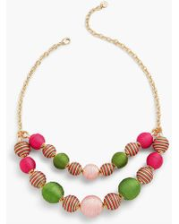 Talbots - It's A Wrap Spheres Necklace - Lyst