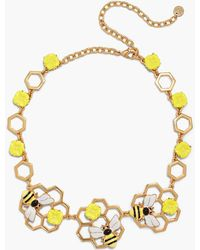 Talbots - Bee Mine Necklace - Lyst