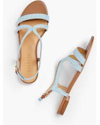 Talbots - Keri Strap Sandals - Lyst