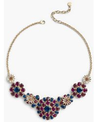 Talbots - Crystal Necklace - Lyst