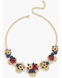 Talbots - Filigree Statement Necklace - Lyst