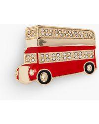 Talbots - City Bus Brooch - Lyst