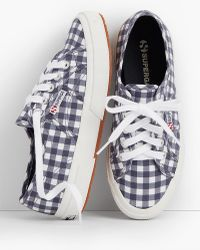 Talbots - Superga® Sneakers-gingham - Lyst