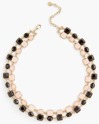 Talbots - Two-layer Stone Necklace - Lyst