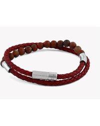 Tateossian - Havana Silver Bracelet - Lyst