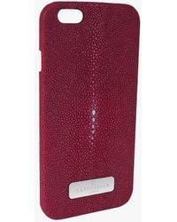 Tateossian - Stingray Iphone 6 Case In Black - Lyst